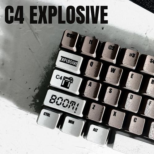 KeyKraft C4 Explosive Keycap Set