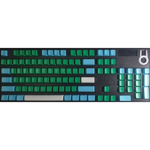 KeyKraft Green Medic Keycap Set by Gealvin
