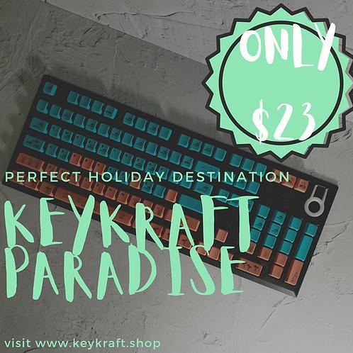 KeyKraft Paradise Keycap Set
