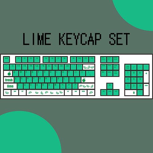 KeyKraft Lime Keycap Set