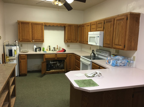 The Kitchen is Upgraded - Late March 2019
