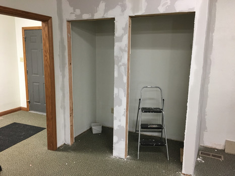 New Confessional is Framed - Late March 2019