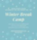 Light Blue Illustrated Snowflake Invitat