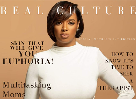 Real Culture Launches First Digital Magazine Cover