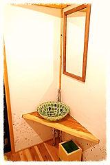 四国徳島ゲストハウストイレ手洗い