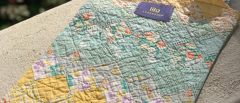 """Tasche aus Vintage """"Around the world"""" Quilt"""
