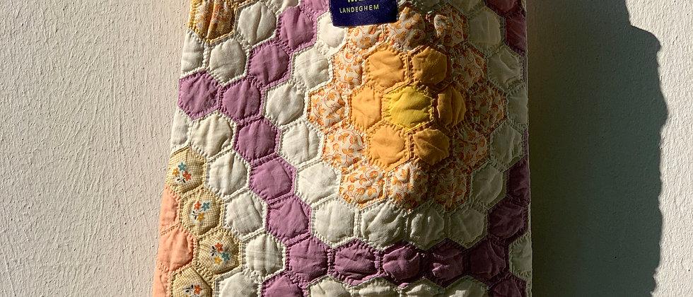 """Tasche aus Vintage """"Grandma`s Flower Garden"""" Quilt"""
