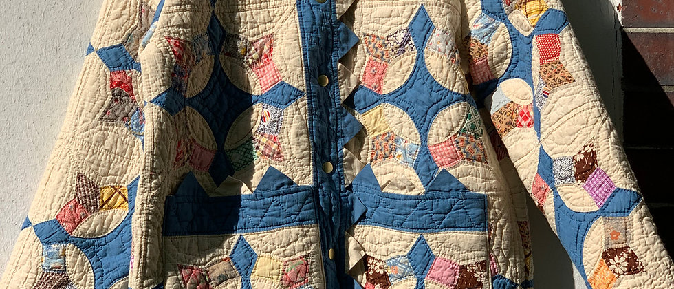 """Classic Coat aus antikem """"Caesar`s Crown"""" Quilt Gr. S"""