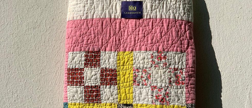 """Tasche aus Vintage """"Nine Patch"""" Quilt"""