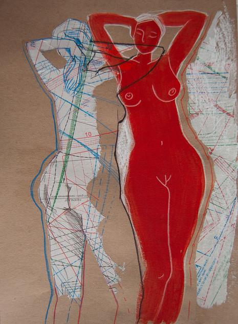 Серия Крой/ Красная фигура