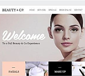 Beauty Salon Website Design|WebSoftWay|Website designing and development company| Vaishali| Ghaziabad| Delhi| NCR| India
