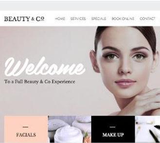Beauty Salon Website Design|WebSoftWay|Website designing and development company| Vaishali| Ghaziabad| Delhi| NCR| India