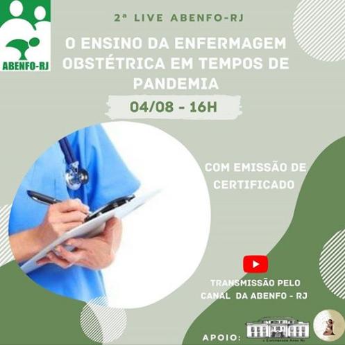 2ª Live Abenfo-Rj