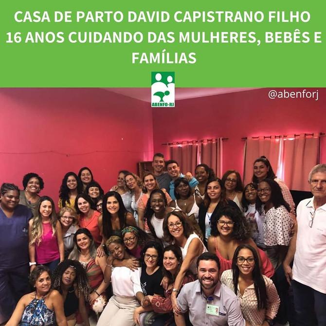 16 anos da Casa de Parto David Capistrano Filho