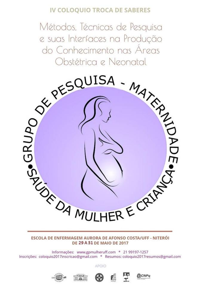Evento para os Grupos de Pesquisa das Áreas da Enfermagem Obstétrica e Neonatal.