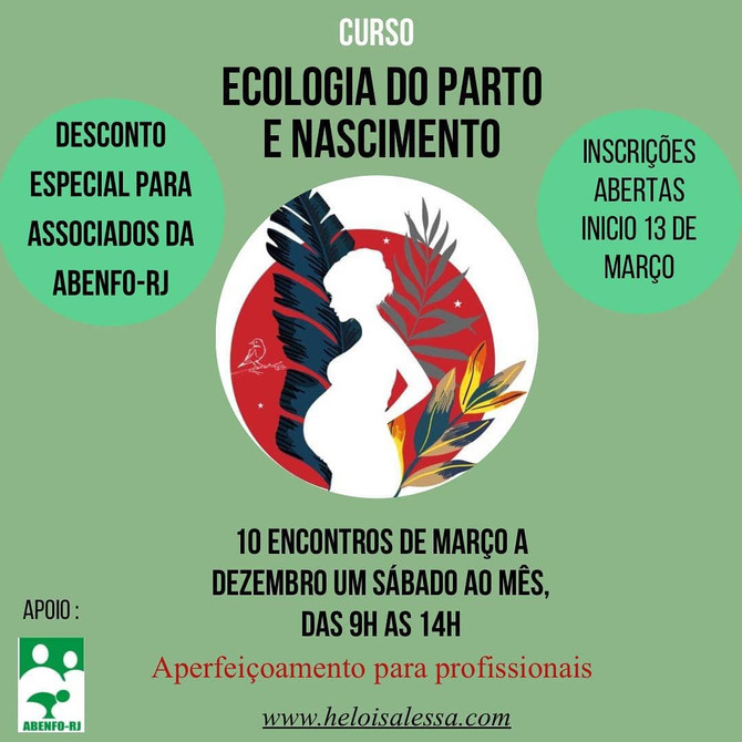 CURSO ECOLOGIA DO PARTO E NASCIMENTO