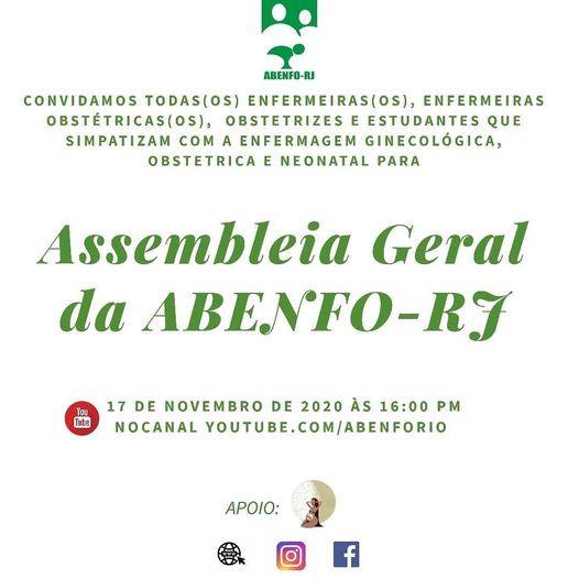 Assembleia Geral da ABENFO-RJ