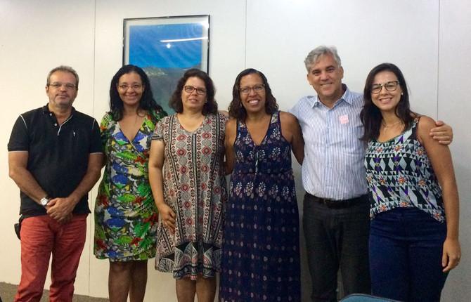 1° ENENG - A Reunião desta vez aconteceu na Prefeitura do Rio de Janeiro, no dia 16 de janeiro de 20