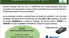 Agora ficou mais fácil você se associar a ABENFO-RJ !!!