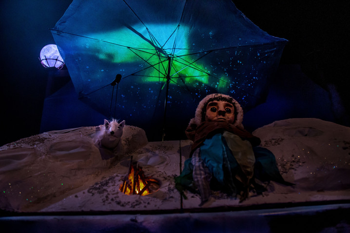 Under the Frozen Moon