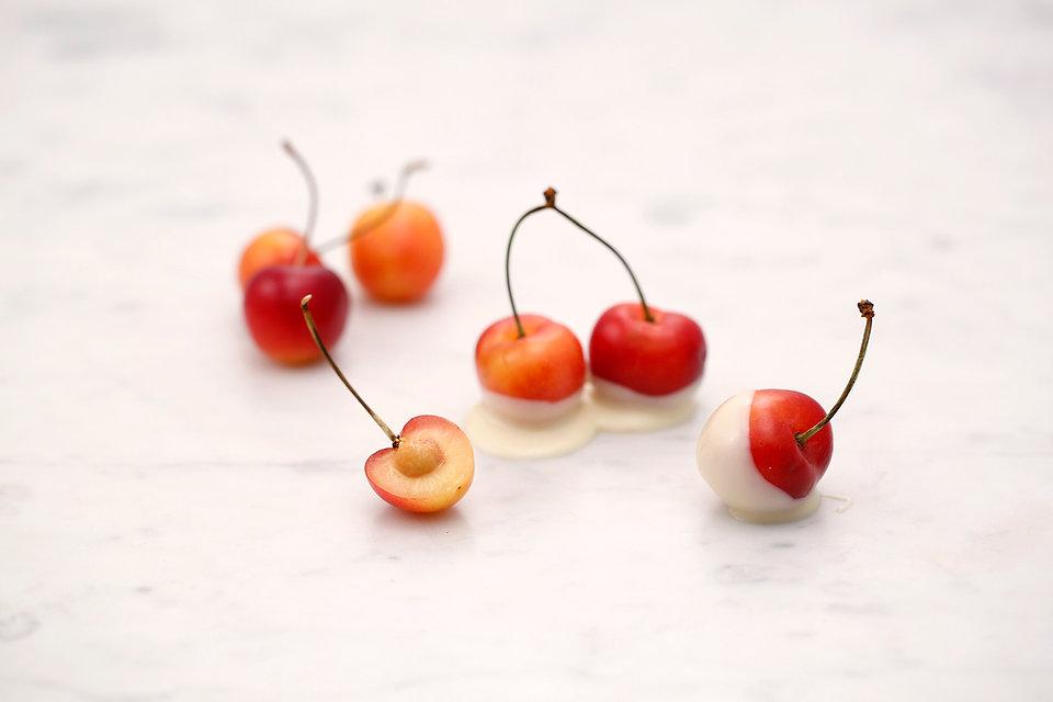 Cherries Dessert