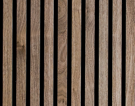 Akupanel Detail in Walnut