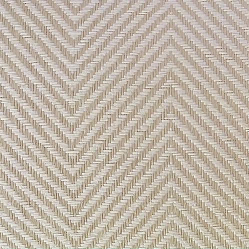 Beige + Bone Paper Weave Herringbone