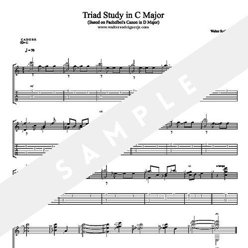 Triad Study in C Major