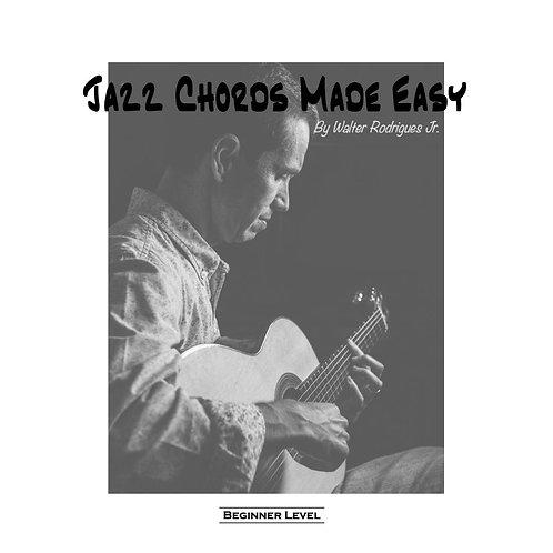 Jazz Chords Beginner (PDF + Video)