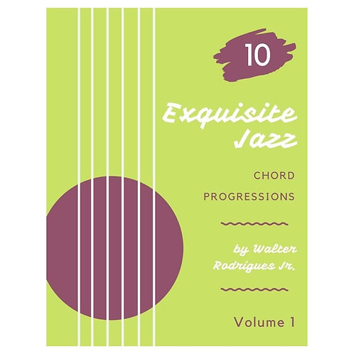 10 Exquisite Jazz Progressions vol.1 (Tab + Video)