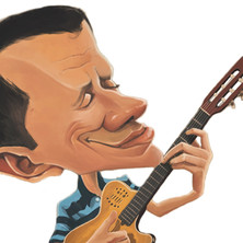 Caricature by Ferri Way