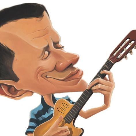 Caricature by Ferri Way