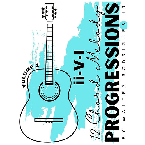 2-5-1 Chord Melody Progressions Vol.1
