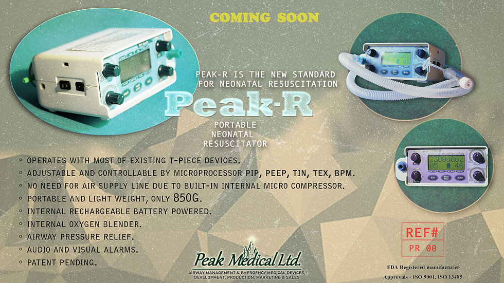 peak medical portable neonatal resuscitator