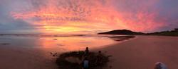 Sunset Playa Grande