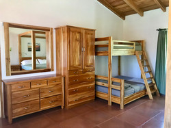 Bunk beds in Master bedroom