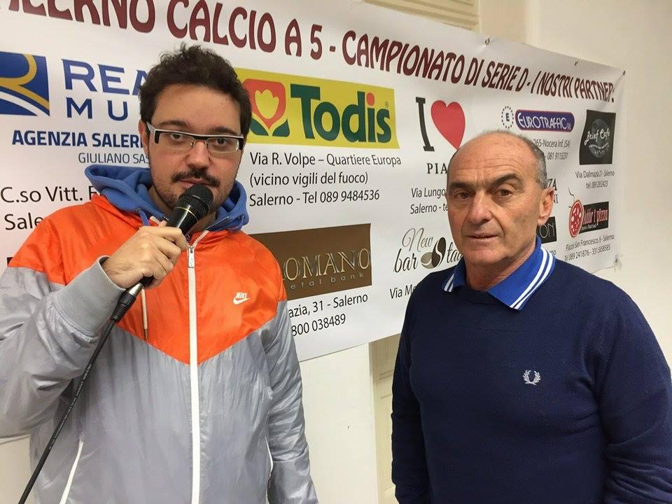 L'allenatore Paolo D'Agostino