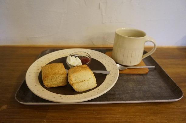 元町 Mitsu Tea スコーン