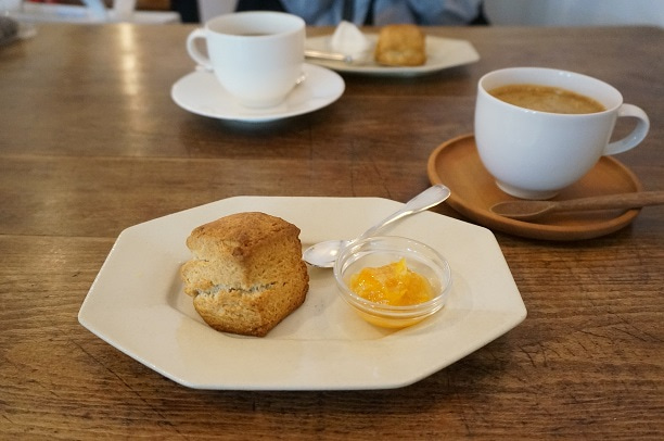 立石 cafe noix スコーン