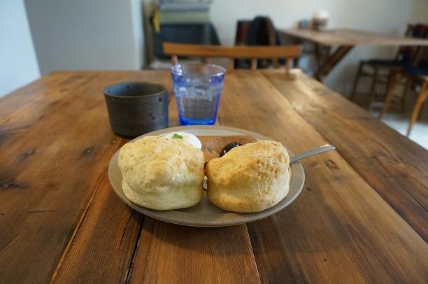 西宮 cafe upe スコーン