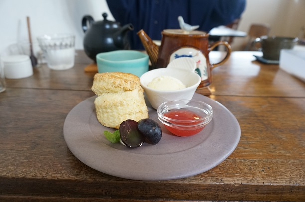 印西 紅茶と食と台所 糸 スコーン