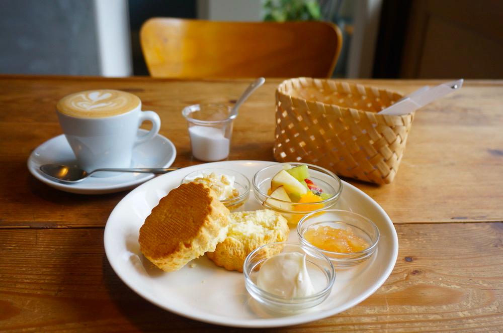 京都 アカツキコーヒー スコーン