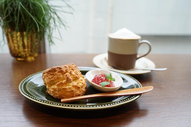 代々木上原 SIGOURNEY Bake&Coffee スコーン