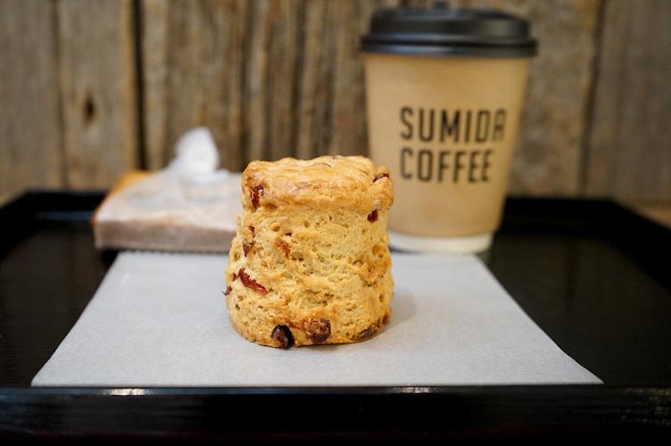 錦糸町 SUMIDA COFFEE スコーン