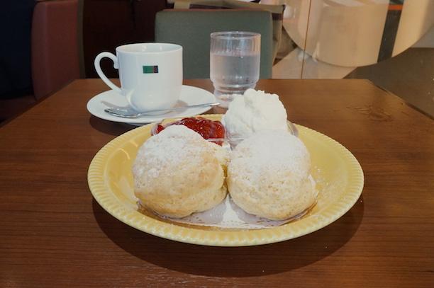 日本橋 ミカドコーヒー スコーン