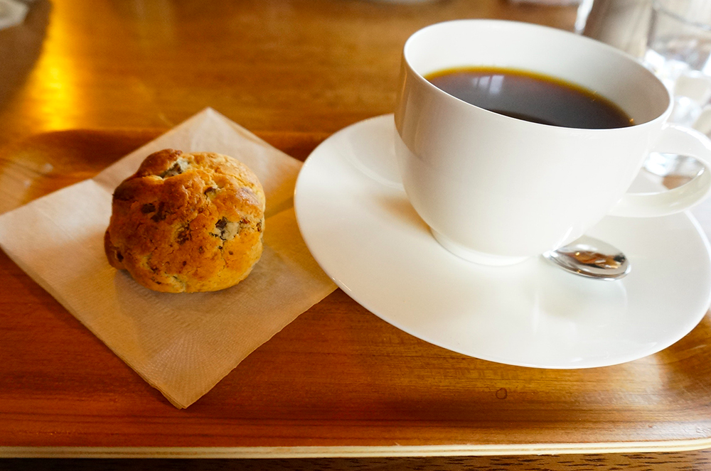 深井 ELMERS GREEN COFFEE&BAKE スコーン