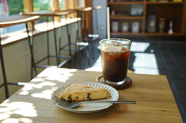 神楽坂 AKHA AMA COFFEE ROASTERS スコーン