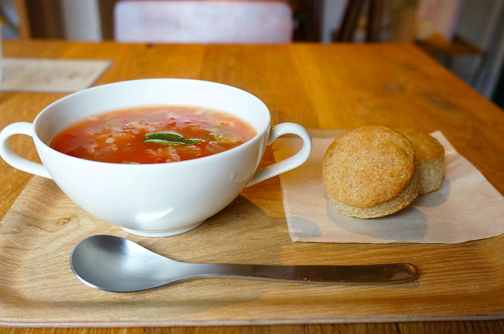 立川 スープカフェ なんでもない日 スコーン