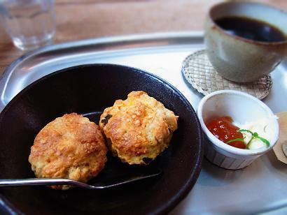 鎌倉 asobo cafe スコーン