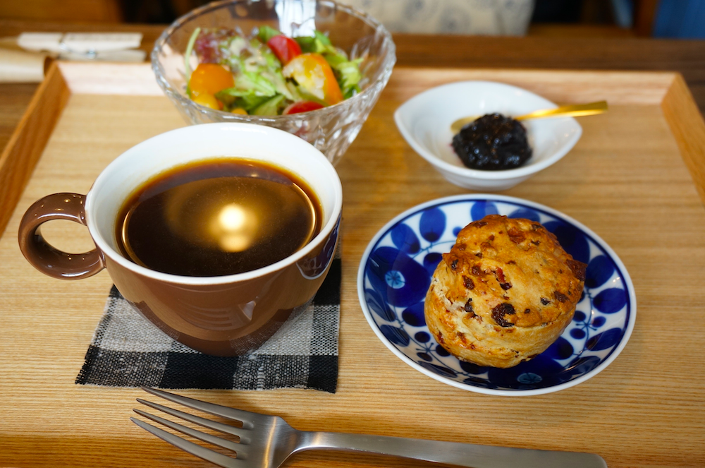 仙川 3 beans cafe スコーン